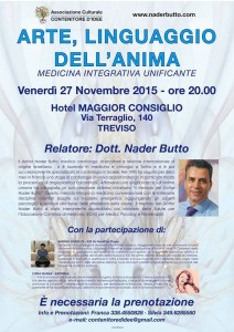 Conferenza:Arte, Linguaggio dell'Anima @ Treviso @ Hotel Maggior Consiglio | Treviso | Veneto | Italia